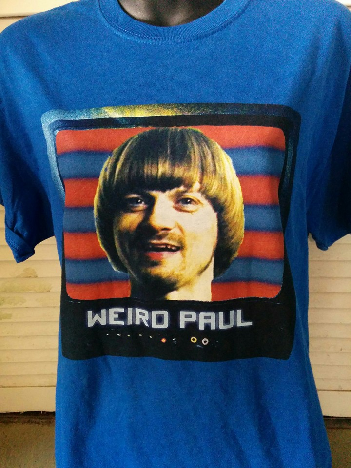 Blue WeirdPaul Tee